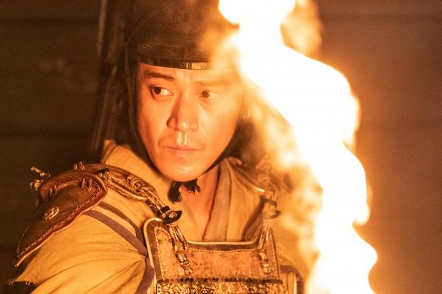 北条義時を演じる小栗旬(C)NHKの画像