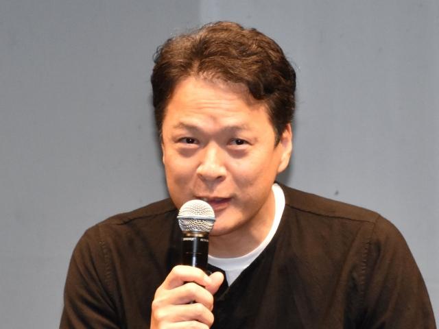 「軽い一目惚れは2日に1回」と笑いながら話した田中哲司 (C)ORICON NewS inc.の画像