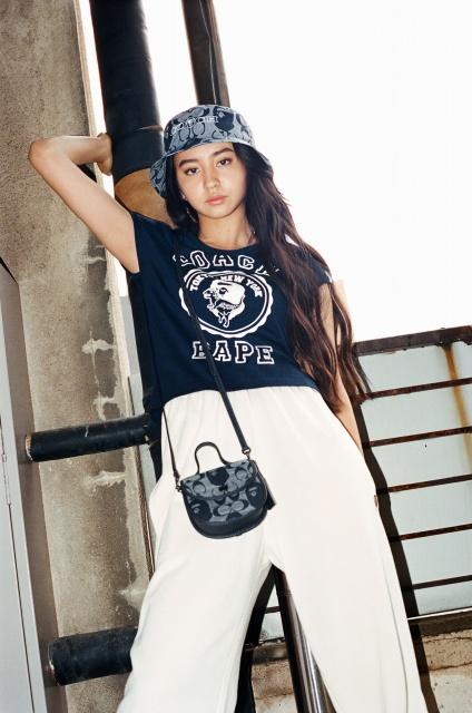 『BAPE(R) × COACH 』キャンペーンに登場したKoki,の画像