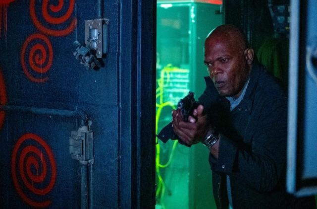 主人公・バンクス刑事の父親役を演じる名優・サミュエル・L・ジャクソン=映画『スパイラル:ソウ オールリセット』(9月10日公開)(C)2020 Lions Gate Films Inc. All Rights Reserved.の画像