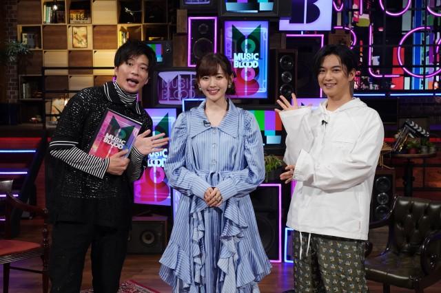 23日放送『MUSIC BLOOD』ゲストは鈴木愛理(C)日本テレビの画像