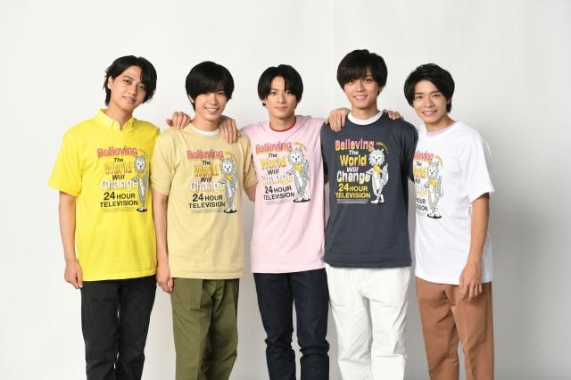 『24時間テレビ44』の「フラワーソングメドレー」に参加するKing & Prince (C)日本テレビの画像