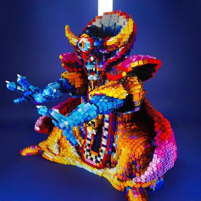 SNSで大きな話題となったレゴ製の『ゾーマ』 作・画像提供/FukuTaku氏の画像