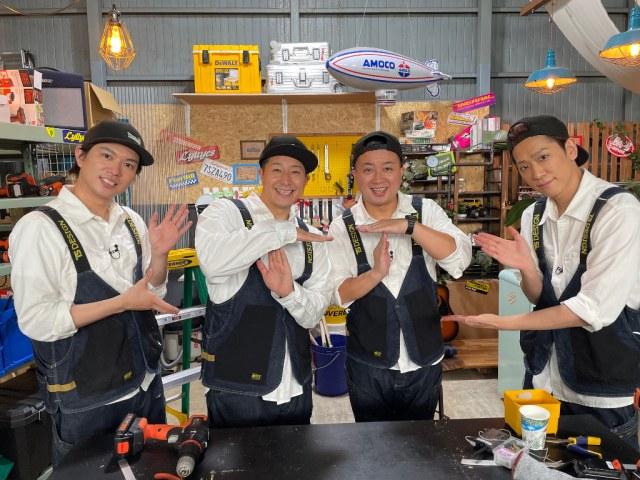 27日、9月3日放送 『NEWSの全力!!メイキング』にチョコレートプラネットが登場 (C)TBSの画像