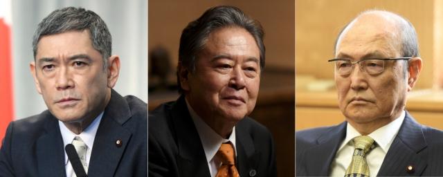 『日本沈没―希望のひと―』に出演する(左から)杉本哲太、風間杜夫、石橋蓮司 (C)TBSの画像