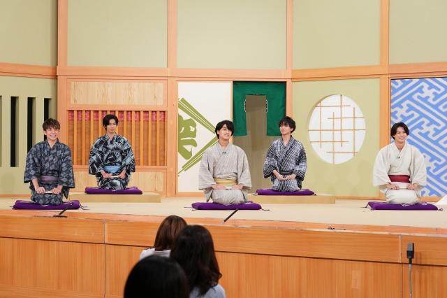 『笑点』に出演したKing & Prince(C)NTVの画像