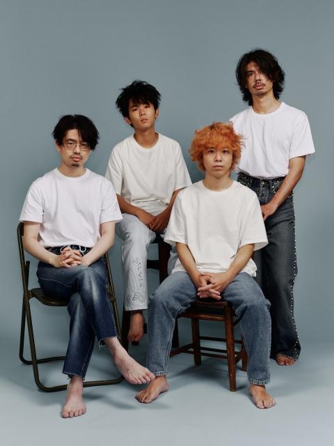 エンディング曲「Sprite」を担当するOKAMOTO'Sの画像