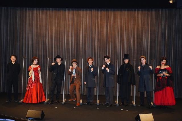 ミュージカル『ジャック・ザ・リッパー』歌唱披露の模様の画像