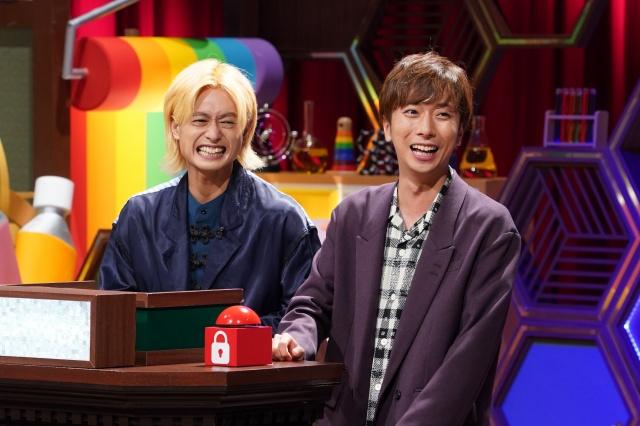 27日放送『クイズ!あなたは小学5年生より賢いの?』に出演する塚田僚一と河合郁人 (C)日本テレビの画像