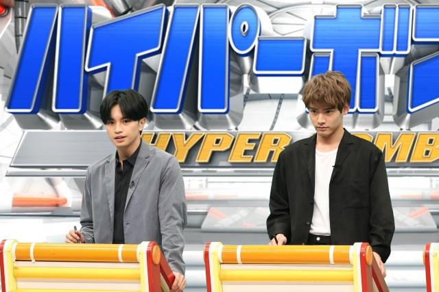 30日放送『ネプリーグ』に出演する中島健人、赤楚衛二 (C)フジテレビの画像