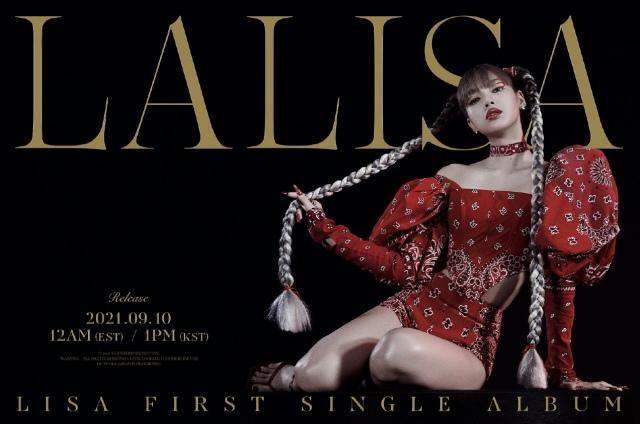 BLACKPINKのLISAが9月10日にシングル「LALISA」でソロデビューの画像
