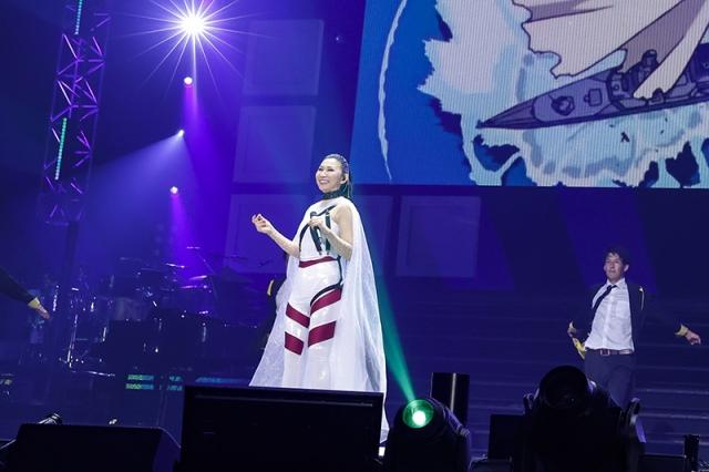 『Animelo Summer Live』DAY1のトップバッターで登場した高橋洋子 (C)Animelo Summer Live 2021の画像
