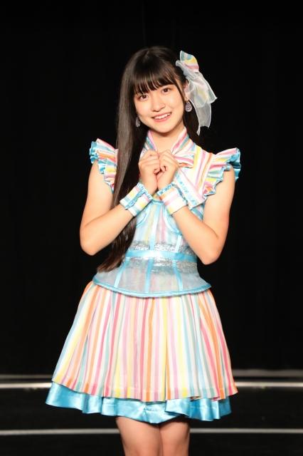 SKE48の新センターで48グループ現役最年少12歳の林美澪の画像