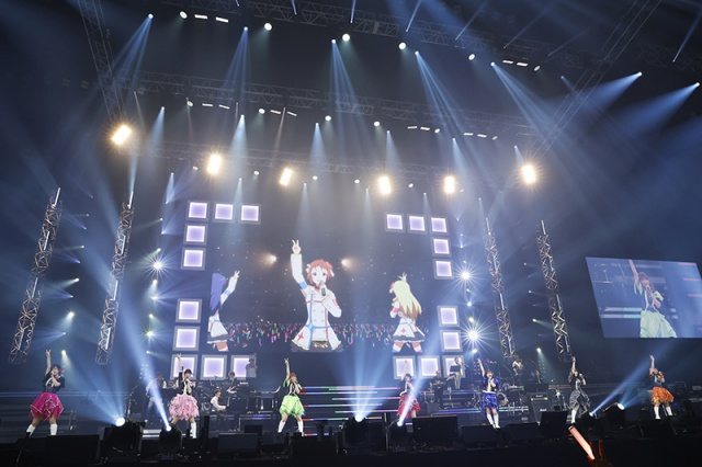 『Animelo Summer Live 2021 -COLORS-』で熱唱した765プロオールスターズ (C)Animelo Summer Live 2021の画像