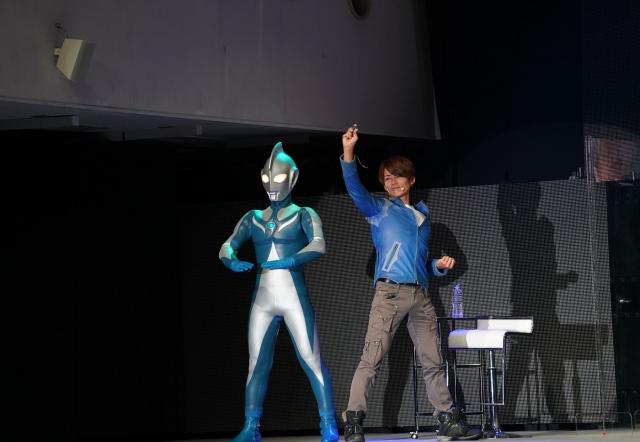 『ウルトラマンコスモス』衣装がパツパツになったという杉浦太陽(C)円谷プロの画像