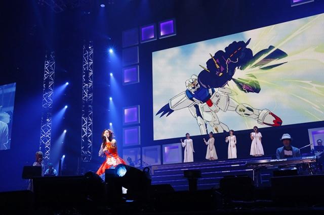 『Animelo Summer Live 2021 -COLORS-』森口博子 (C)Animelo Summer Live 2021の画像