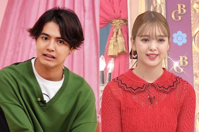 8月31日放送の『幸せ!ボンビーガール』に出演する(左から)片寄涼太&藤田ニコル(C)日本テレビの画像