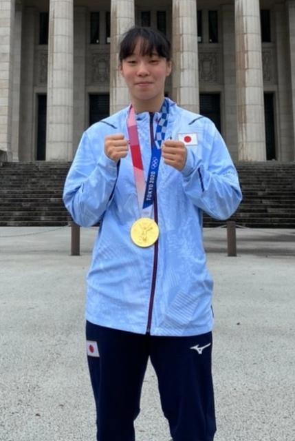 東京五輪ボクシング女子フェザー級金メダリスト・入江聖奈の画像