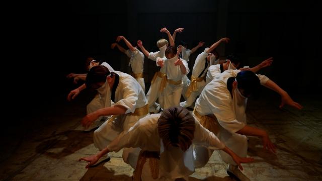 Ado「踊」のカバーパフォーマンスを披露したJO1の画像