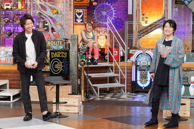 8月31日放送の『ウチのガヤがすみません!』に出演する(左から)藤原竜也、風間俊介 (C)日本テレビの画像