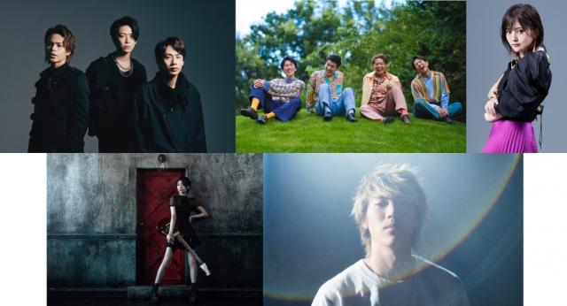 9月6日放送の『CDTVライブ!ライブ!』に出演するアーティスト陣 (C)TBSの画像