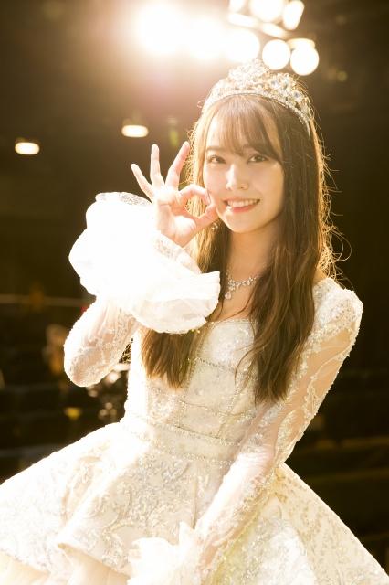 卒業公演を行ったNMB48・白間美瑠(C)NMB48の画像
