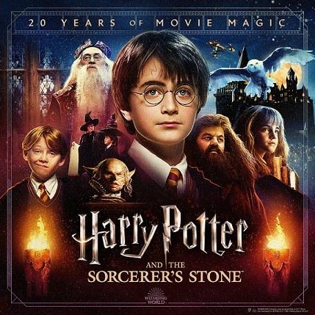 『ハリー・ポッターと賢者の石』映画公開20周年記念「バック・トゥ・ホグワーツ」9月1日午後6時半からグローバルファンイベント開催の画像
