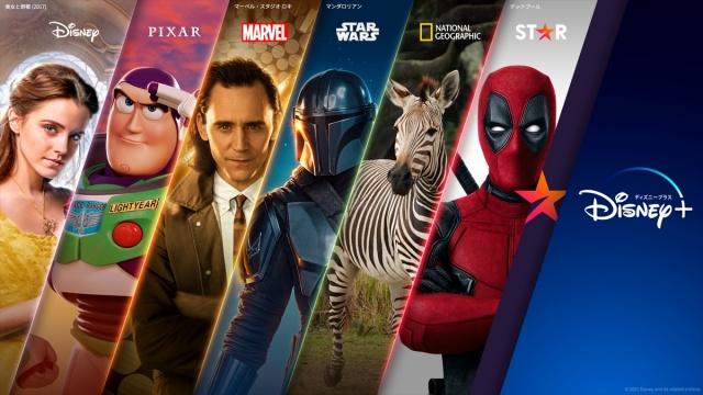 10月27日より日本のディズニープラスにゼネラル・エンターテインメント・コンテンツ「スター」を追加の画像