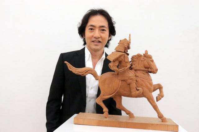 第105回記念「二科展」彫刻部門で初入選した秋川雅史の画像
