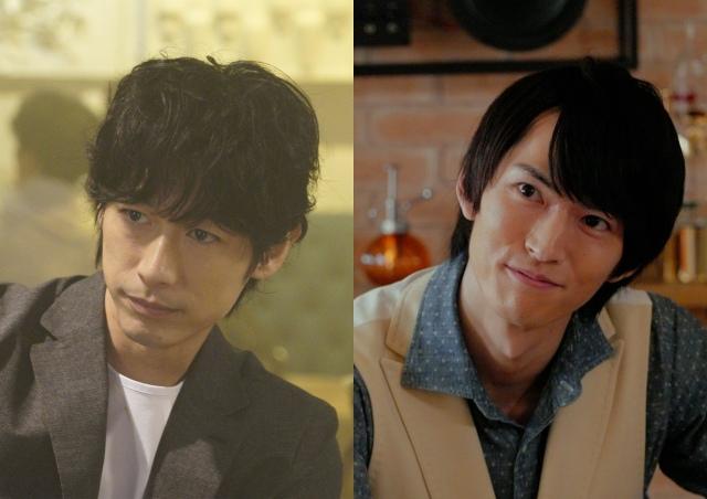 FODオリジナルドラマ 『ぼくの推しは王子様』に出演する(左から)ディーン・フジオカ、和田雅成(C)フジテレビの画像