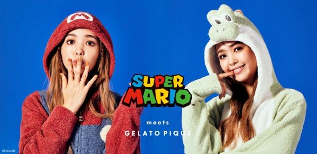『SUPER MARIO meets GELATO PIQUE』が登場の画像
