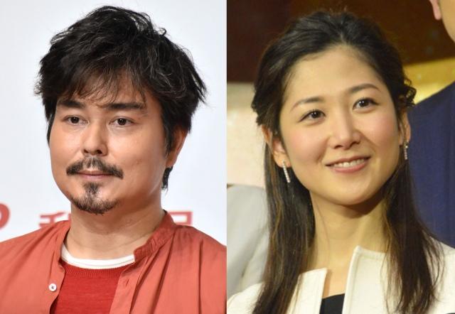 (左から)小澤征悦、桑子真帆 (C)ORICON NewS inc.の画像