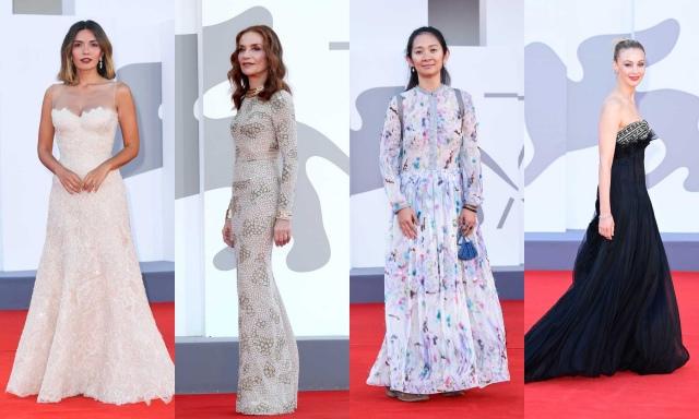 「第78回ベネチア国際映画祭」でアルマーニを着用したセレブリティの画像