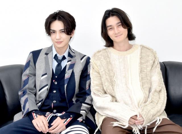 『トーキョー製麺所』に出演する(左から)吉野北人、柳俊太郎 (C)ORICON NewS inc.の画像