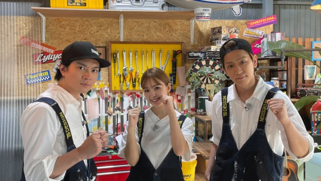 『NEWSの全力!!メイキング』に出演する(左から)加藤シゲアキ、藤田ニコル、小山慶一郎(C)TBSの画像