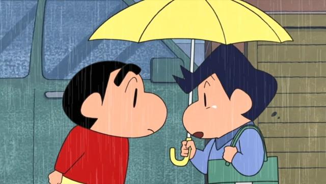 しんのすけと風間くんの友情を描いた名作「オラの心はエリートだゾ」9月4日に放送(C)臼井儀人/双葉社・シンエイ・テレビ朝日・ADK 2021の画像