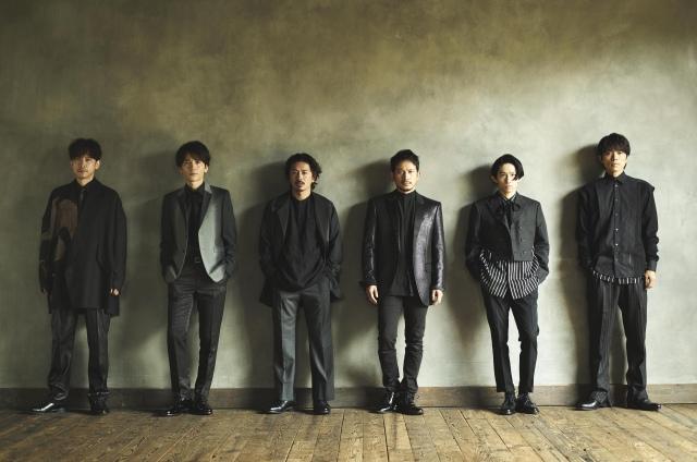 10月26日にベストアルバムをリリースすると発表したV6の画像