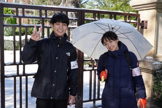 『二月の勝者 -絶対合格の教室-』のクランクインを迎えた柳楽優弥、井上真央 (C)日本テレビの画像