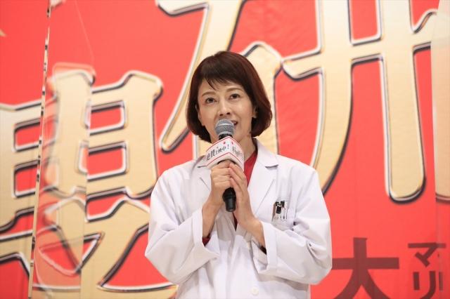 『科捜研の女 -劇場版-』公開記念舞台あいさつイベントに登壇した沢口靖子の画像
