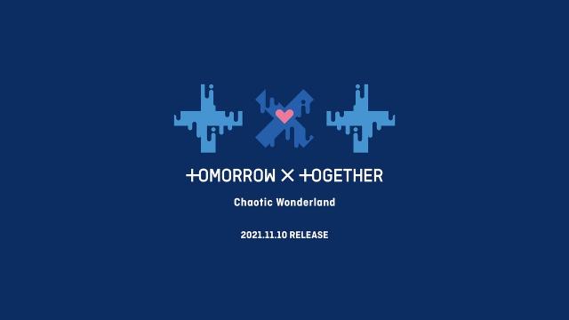 TOMORROW X TOGETHERの日本1st EP『Chaotic Wonderland』が11月10日発売決定(P)&(C) BIGHIT MUSICの画像