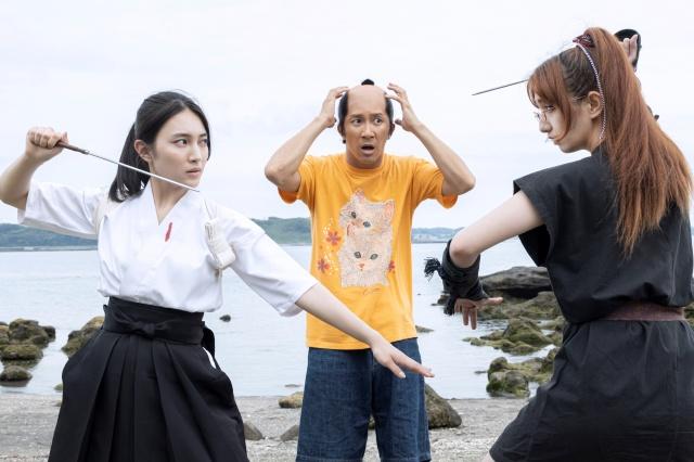 『武士スタント逢坂くん!』第7話場面カット (C)ヨコヤマノブオ・小学館/NTV・J Stormの画像