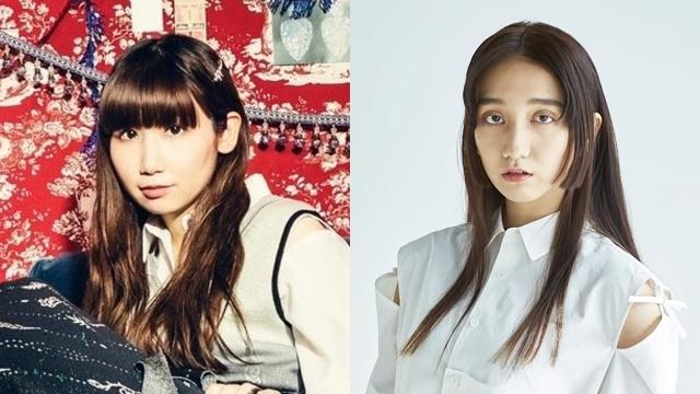 (左から)根本宗子、長井短の画像