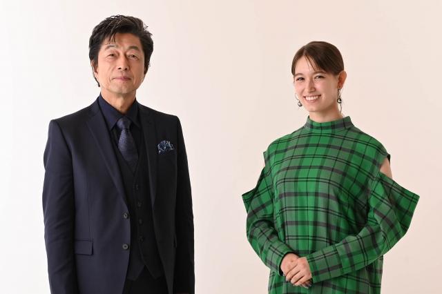 BSテレ東『SDGsウィーク』オンライン記者会見に出席した(左から)中村雅俊、トラウデン直美 (C)テレビ東京の画像