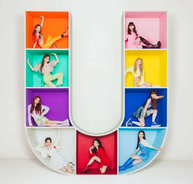NiziUの1stアルバム『U』新ビジュアルの画像