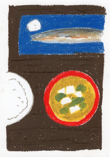 川柳に添えられたイラスト。『シルバー川柳11』より(イラスト:古谷充子)の画像