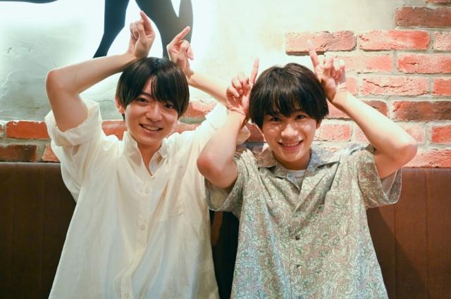 8日放送のテッペン!『よるのブランチ』に出演する(左から)西村拓哉、嶋崎斗亜(C)TBSの画像
