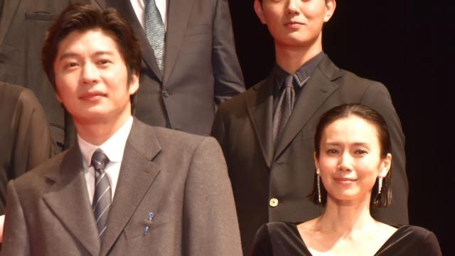中谷美紀(右)にうっかり失言をした田中圭(C)ORICON NewS inc.の画像