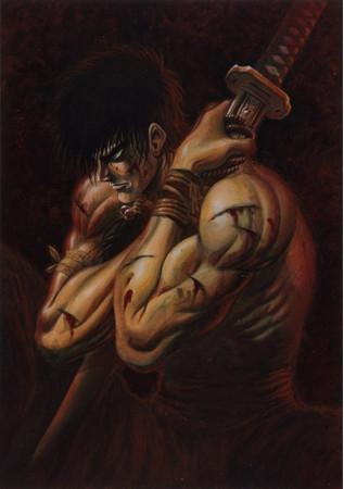 三浦建太郎の初期作『王狼』が『ヤングアニマルZERO』10/1号でリバイバル連載開始(C)武論尊・三浦建太郎/白泉社の画像