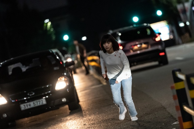 韓国映画『殺人鬼から逃げる夜』(9月24日より全国順次公開)(C)2021 peppermint&company & CJ ENM All Rights Reserved.の画像