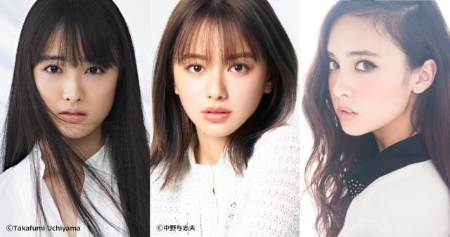 『王様のブランチ』に出演する(左から)大友花恋、山本舞香、石田二コルの画像